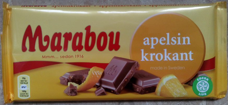 Marabou Apelsinkrokant - Product
