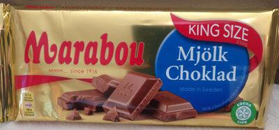 Marabou Mjölk chokolad - Produkt - de