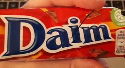 Daim chocolate bar milk - Producto - en