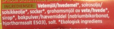 Kex, Digestive, Eko - Ingredients - sv