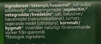 Smörgåsrås ekologisk - Ingrédients - sv