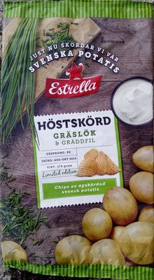 Estrella Höstskörd Gräslök & Gräddfil Limited edition - Product