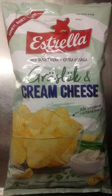 Estrella Gräslök & Cream Cheese - Product