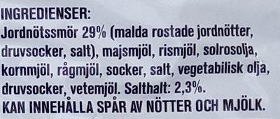 Estrella Jordnötsringar Originalet - Ingredients