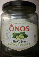 Önos Mor Annas smörgåsgurka - Produit - sv