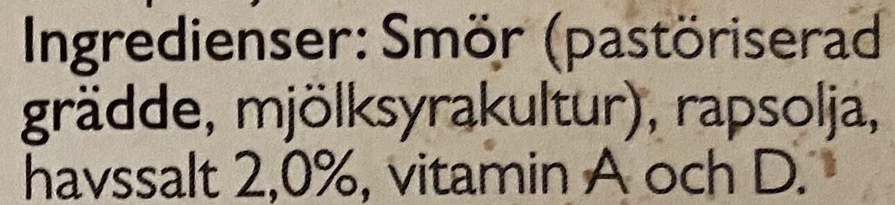 Bregott Havssalt - Ingredients - sv