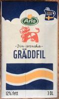 Arla Ko Gräddfil 12% 3 dl - Produit