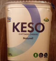 KESO Cottage Cheese Naturell - Product - sv