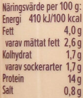 KESO Cottage Cheese Naturell - Nutrition facts - sv