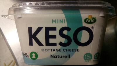 KESO Cottage Cheese Mini Naturell - Produit - sv