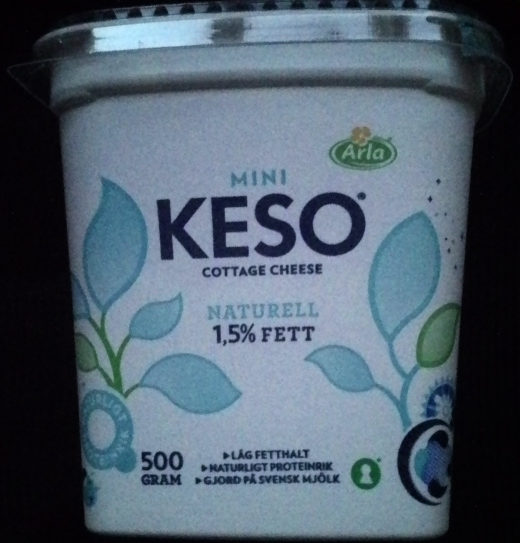 KESO Cottage Cheese Mini Naturell - Product - sv