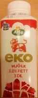 Arla Ko Ekologisk Mjölk - Produit