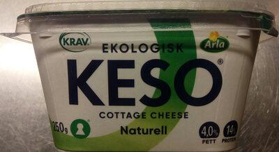 KESO Cottage Cheese Ekologisk Naturell - Produit - sv