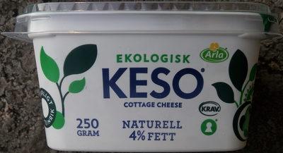 KESO Cottage Cheese Ekologisk Naturell - Produit