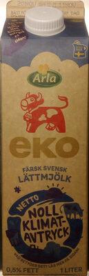 Arla Ko Ekologisk Lättmjölk - Produkt - sv