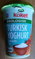 Turkish Yoghurt - Produit - sv