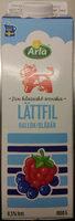 Arla Ko Lättfil Hallon/blåbär - Product - sv