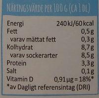 Arla Ko Lättfil Hallon/blåbär - Voedingswaarden - sv