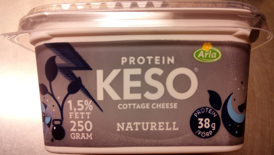KESO Cottage Cheese Protein Naturell - Product - sv