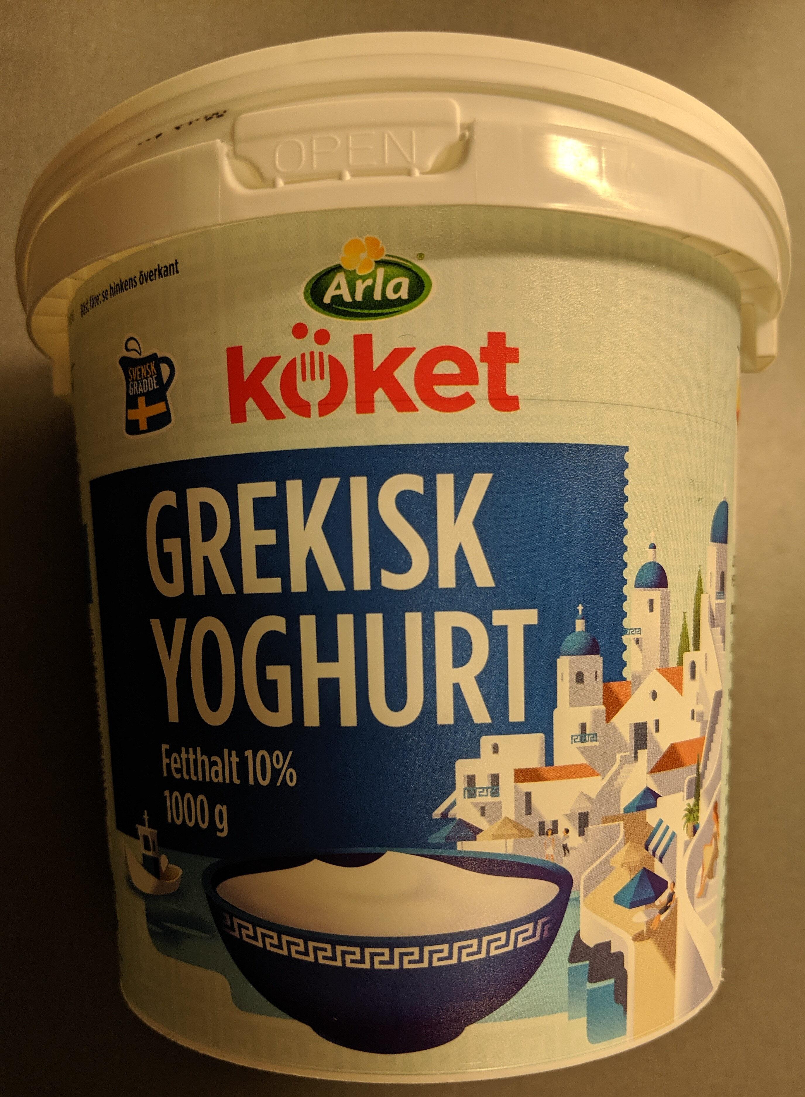 arla grekisk yoghurt