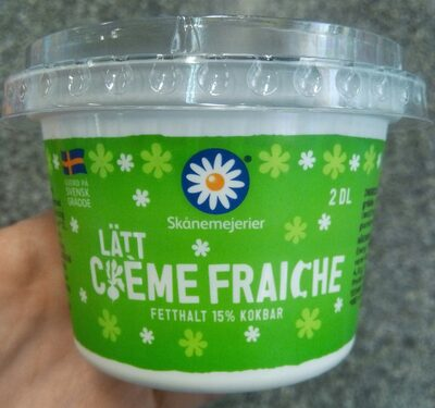 Lätt crème fraîche - 1