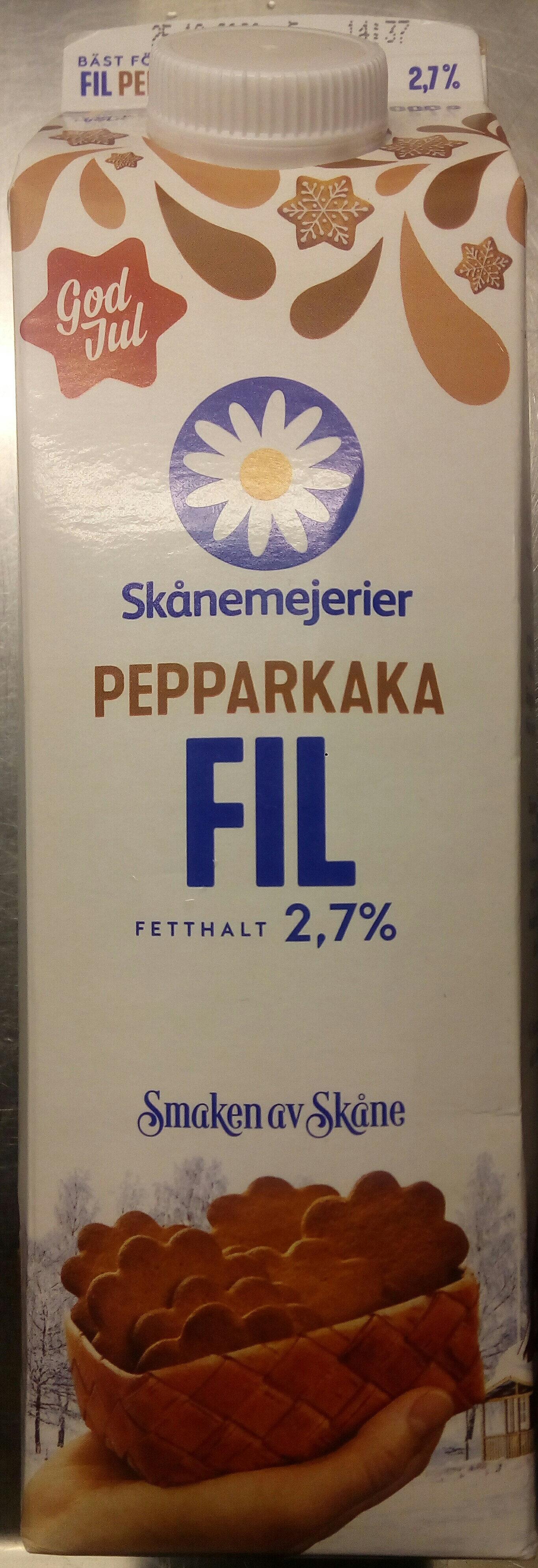 Skånemejerier fil pepparkaka - Produit - sv