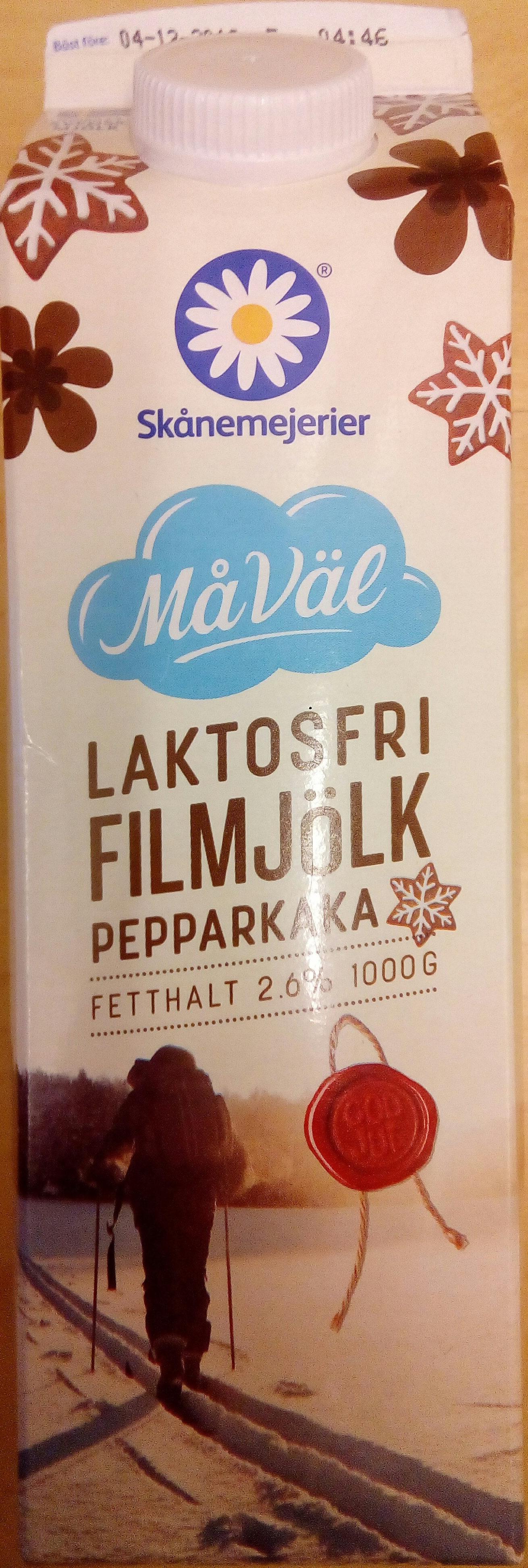Skånemejerier Laktosfri Filmjölk Pepparkaka - Product - sv