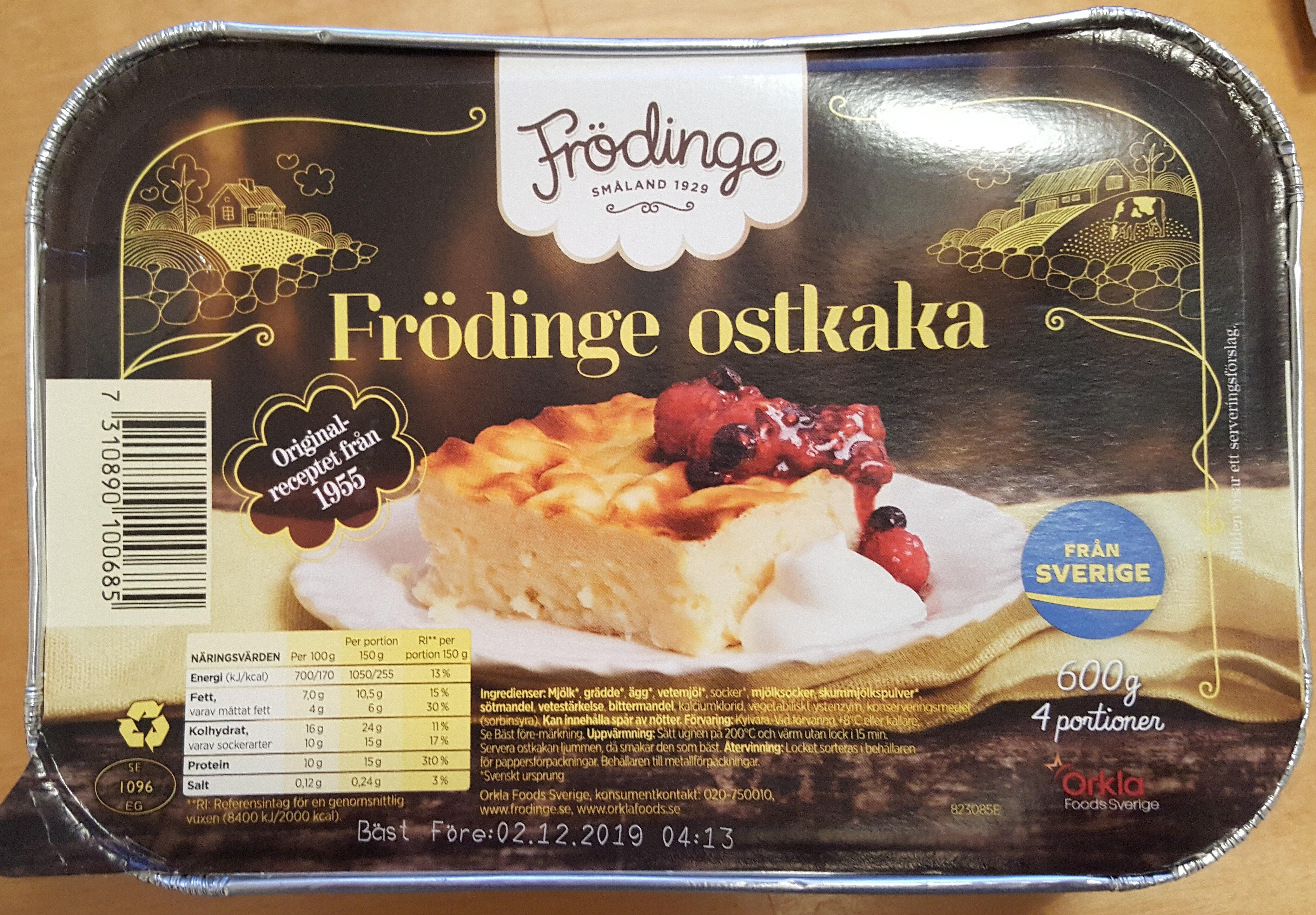 Frödinge Ostkaka - Produit - sv
