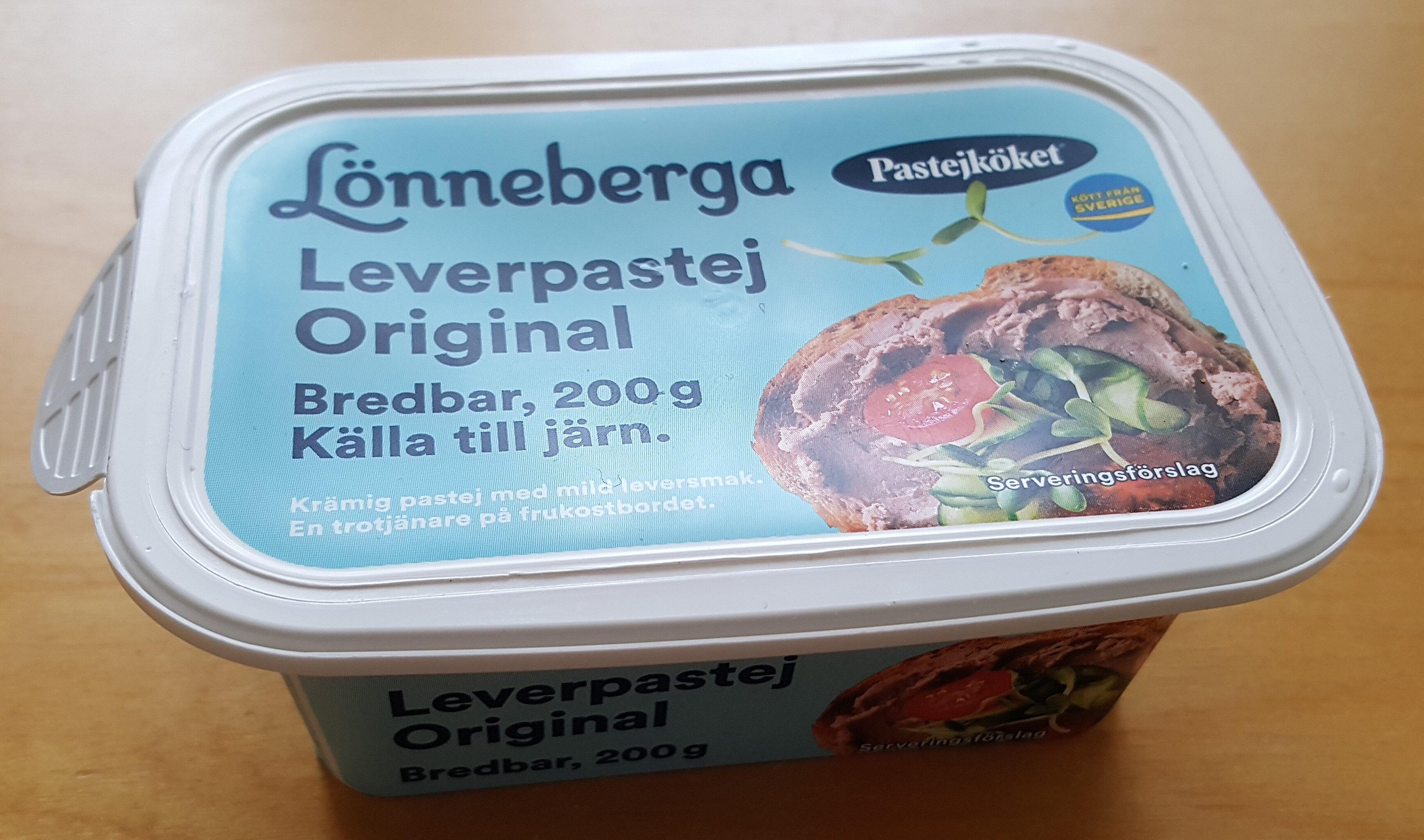 Lönneberga Leverpastej Original - Product