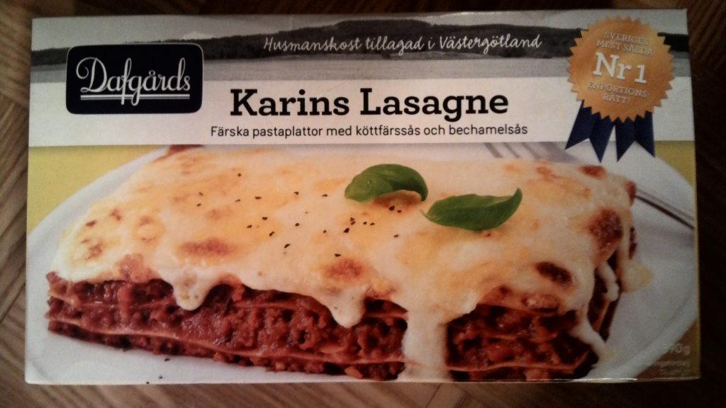 Dafg 229 Rds Karins Lasagne 390 G