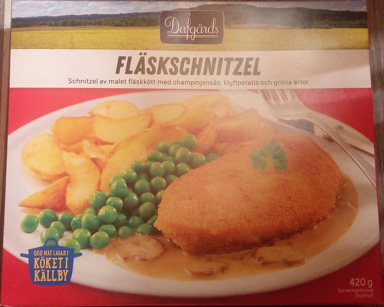 Dafgårds Fläskschnitzel - 产品 - sv