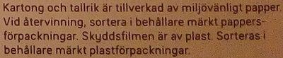 Dafgårds Fläskschnitzel - Instruction de recyclage et/ou informations d'emballage - sv