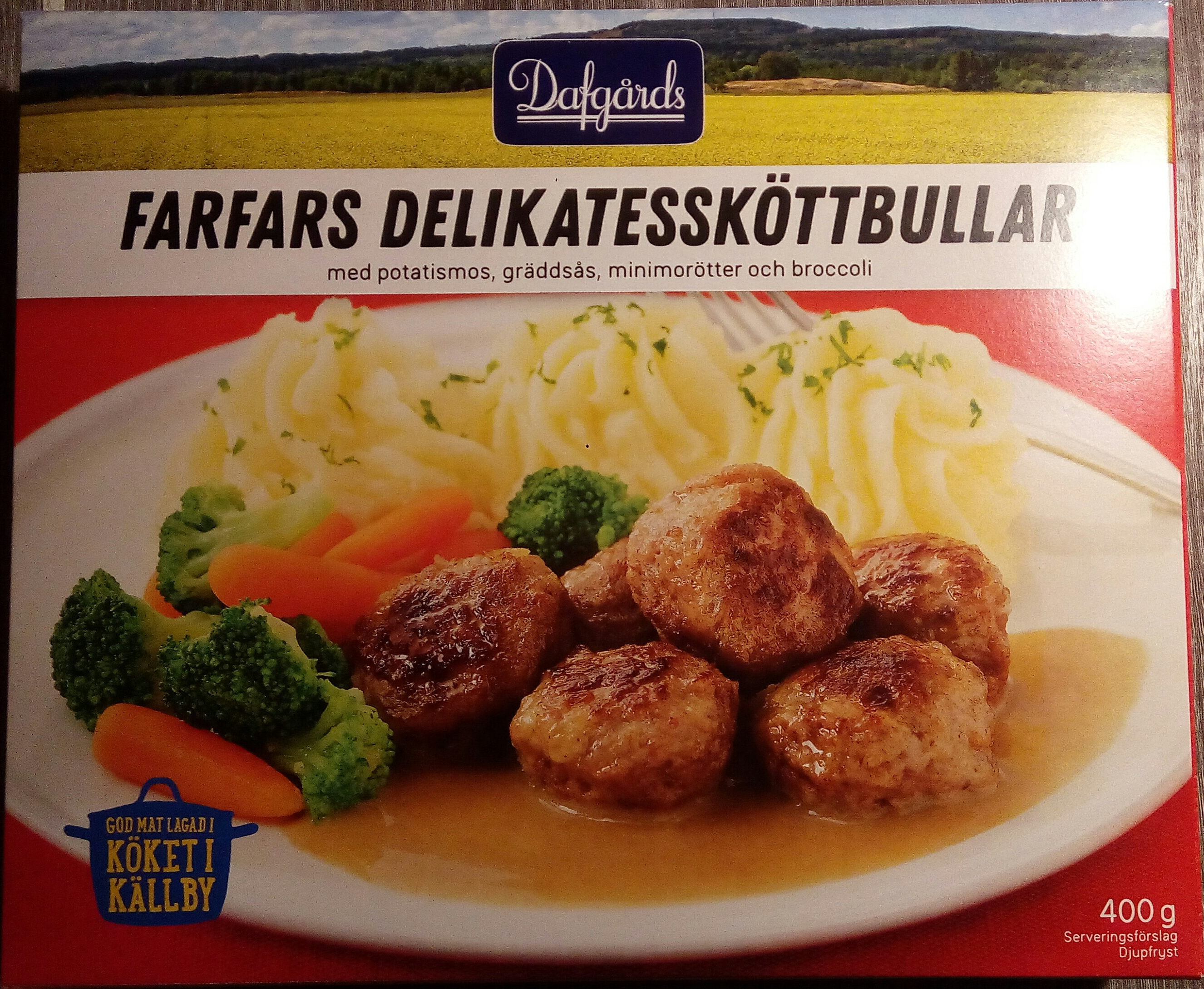 Farfars Delikatessköttbullar - Produit - sv