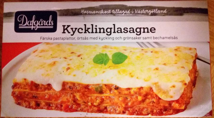 Dafgårds Kycklinglasagne - Produit