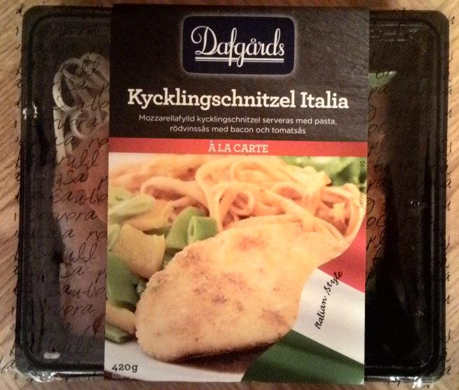 Dafgårds À la carte Kycklingschnitzel Italia - Product