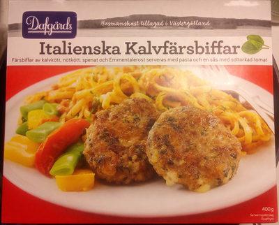 Dafgårds Italienska Kalvfärsbiffar - Produit - sv