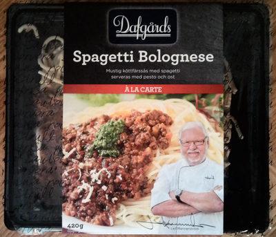 Dafgårds À la carte Spagetti Bolognese - Produit