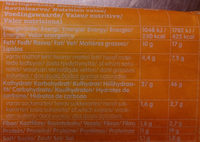 Billys Pan Pizza Chili Cheese - Informations nutritionnelles - sv