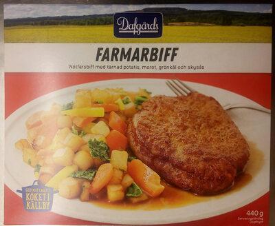 Dafgårds Farmarbiff - Produit - sv