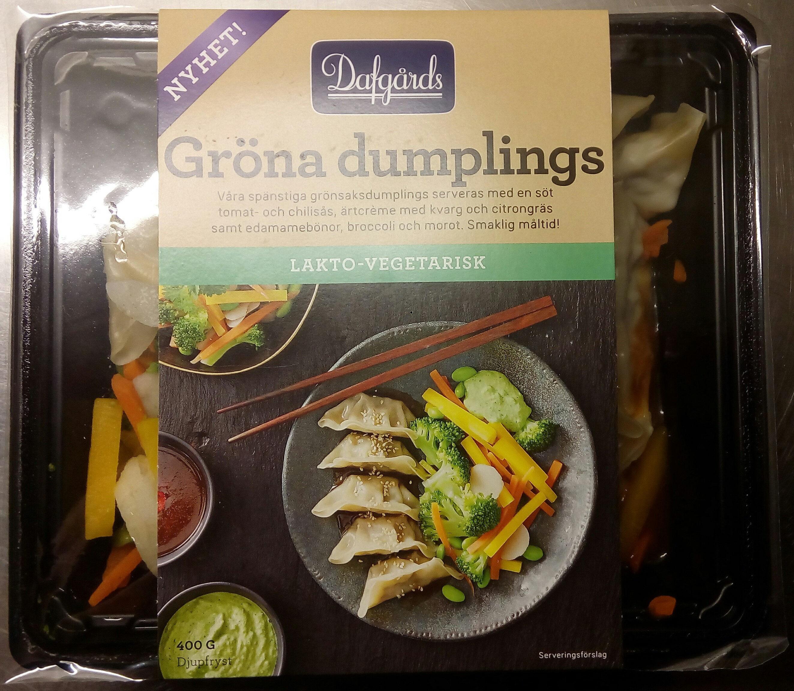 Dafgårds Gröna dumplings - Product