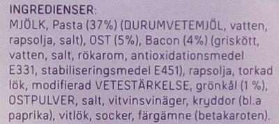 Dafgårds Worlds best Mac & Cheese - Ingredients