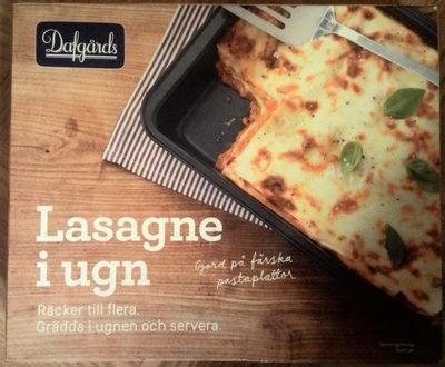 Dafgårds Lasagne i ugn - Produit - sv