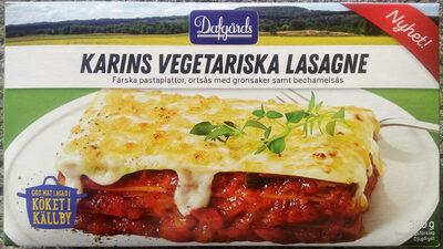 Dafgårds Karins Vegetariska Lasagne - Produit - sv