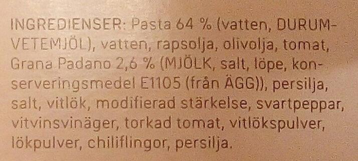 Dafgårds Spagetti Con Aglio - Ingrédients - sv