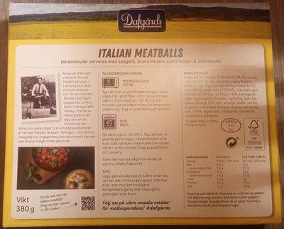 Dafgårds Italian Meatballs - 2