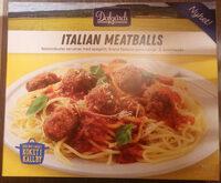 Dafgårds Italian Meatballs - Prodotto - sv