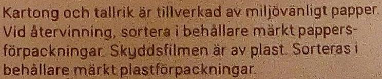 Dafgårds Italian Meatballs - Istruzioni per il riciclaggio e/o informazioni sull'imballaggio - sv
