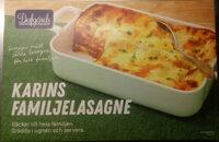 Dafgårds Karins Familjelasagne - Produit - sv
