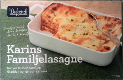 Dafgårds Karins Familjelasagne - Produit