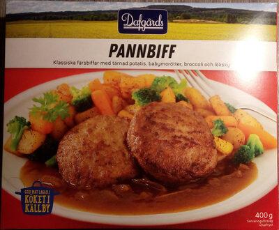 Dafgårds Pannbiff - Produit - sv